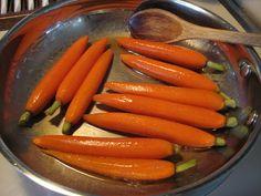 Vanilla & Honey Glazed Carrots