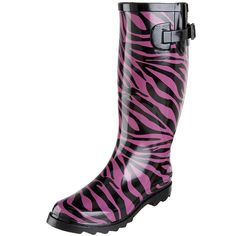 Dirty Laundry Women's Raindrop Zebra Print Rain Boot ** Continue to the product at the image link.