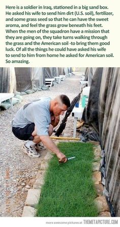 American soil…This almost made me cry.