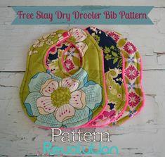 Free Stay Dry Drooler Bib Pattern from www.patternrevolution.com