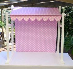 Lolly bar canopy & Related image | Projects to try | Pinterest