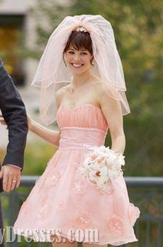rachel mcadams red wedding dress about time - Google Search