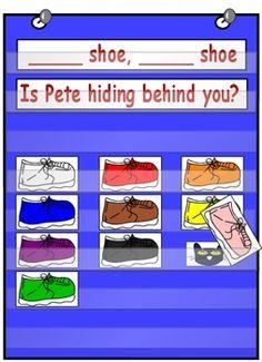 Drake's Pre-K Bear Paws: Fun Back To School idea with Pete the Cat. Preschool Colors, Preschool Themes, Kindergarten Literacy, Preschool Classroom, Preschool Centers, Teaching Colors, Classroom Projects, Preschool Learning, Early Learning