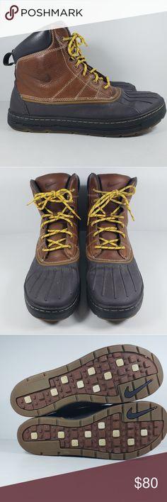 04358a04c0d1 Nike ACG Woodside Leather Rubber Duck Boots Men 11 Nike ACG Woodside  Leather Rubber Duck Boots