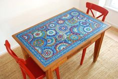 Image result for mosaic table top