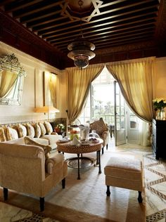 The La Mamounia Hotel In Marrakech - every Moroccan's dream to stay here once in their lifetime....
