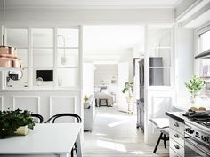 A destination for the lovers of fashion, interior styling, and design. Scandinavian Apartment, Scandinavian Interior Design, Scandinavian Home, Rustic Interiors, Small Apartments, Interior Design Inspiration, Interior Architecture, Luxury Homes, Living Room Decor