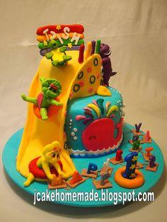 Barney and friends cake pops barneycakepops babybopcakepops