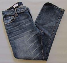 "GAP 1969 Sexy Boyfriend Jeans 28 6 Koko Medium Distressed Denim Ankle 27"" 2013 #GAP #BoyfriendCapriCroppedRelaxedStraightLegankle"