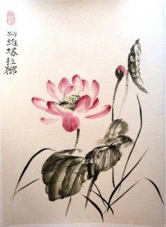 sumi-e lotus - Поиск в Google