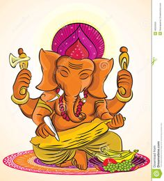 lord-ganesh-vector-illustration-which-can-be-enlarged-to-any-size-46020920.jpg (1180×1300)