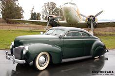1940 Mercury coupe... Looks like some Westergard influence...