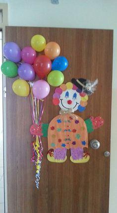 Kapı süsü / Palyaço / clown