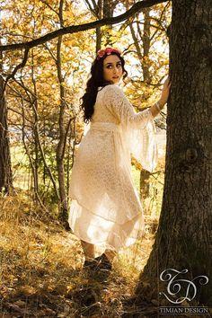 EMPRESS BOHEMIAN DRESS  Lace Hippie Boho Wedding Bride