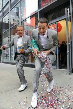 Regis Philbin & Pee Wee Herman