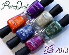 Zoya Fall 2013 PixieDust Nail Polish Swatches