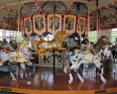 images of carousel horses | Enjoy a Carousel Ride in Downtown Hampton by Valerie Stevens, Liz ...