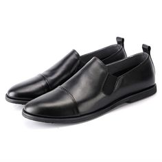 90587b6878a8a Mens Supple Comfortable Brushed Leather Shoes