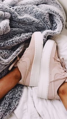 cheap for discount d4e77 6c329 baby pink Nike air Force ones