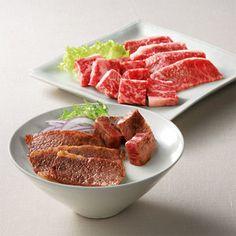 <滋賀県>美しいサシとやわらかな肉質が魅力。【近江牛サイコロステーキ&焼肉セット】
