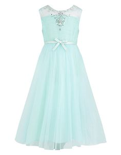 Elsebe Dress, a cute fun blue dress to wear for a party or reunion. Its appropriate, and not too showy, great for preteens.