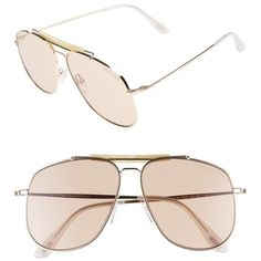 3f023f583b1c Women s Tom Ford Connor 58Mm Aviator Sunglasses (1