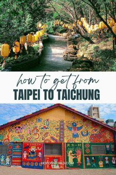 Looking for the best way to get to Taichung from Taipei? Here's a whole host of options to help you figure out how to get from Taipei to Taichung fast and cheaply! taichung taiwan travel | taichung travel