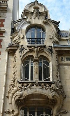 12 rue Sedillot Paris 7e - Jules Lavirotte architecte en 1899 http://www.artdecoceramicglasslight.com/