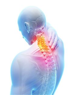 A herniated disc (ruptured or bulging disc) in your cervical spine can cause pain in your neck and down your arms. Certain positions or movements of the neck can intensify the pain. Back Pain Symptoms, Thyroid Symptoms, Thyroid Gland, Bulging Disc In Neck, Cannabis, Neck Pain Treatment, Radiofrequency Ablation, Cervical Disc, Chiropractic Therapy