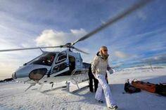 Scenic Helicopter Flights ~ Mount Buller, snow skiing season, Victoria. #Australia fabulous skiing anyone?