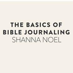 shanna noel: Journaling Bible | Veronica Milan http://shannanoel.blogspot.com/2014/08/journaling-bible-veronica-milan.html