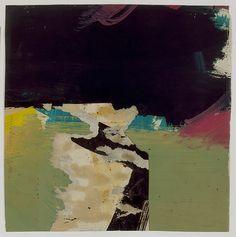 Franz Kline (1910–1962), Untitled, ca.1956, Oil, ink, 26 x 26cm | The Metropolitan Museum of Art