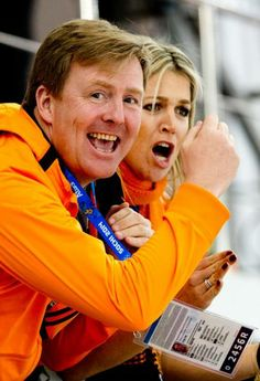 Sotsji 2014: Foto's - koning Willem-Alexander en koningin Maxima schreeuwen Wüst naar goud – Metro