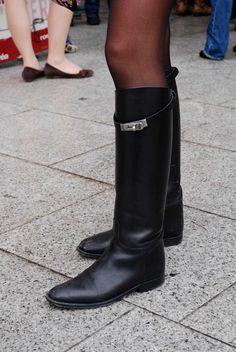 Hermès Riding style boots