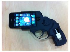 iPhone 4 Ruger by juniortan