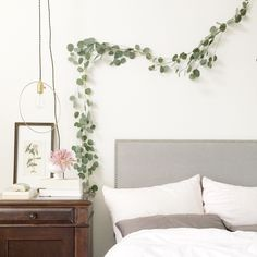 avery street design blog: DIY Eucalyptus Garland