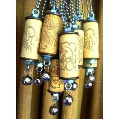 Wine Thirty Cork Necklace