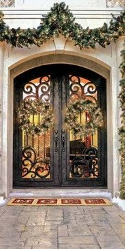 Forged Iron Doors - mediterranean - front doors - - by US Door & More Inc