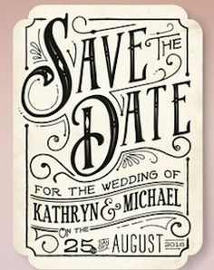 cute save the date cards