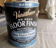 Hometalk :: DIY Painted Floor Cloth