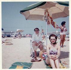 "fifties-sixties-everyday-life: "" Cape Cod, 1950s. """