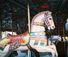 Carousel horse by ~randa-panda