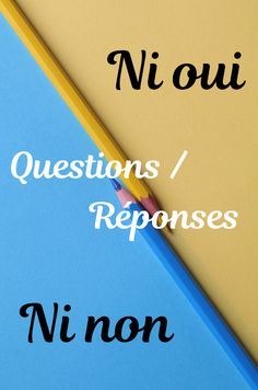 De nombreuses questions et réponses utiles pour le jeu du ni oui ni non #niouininon French Club Ideas, Art For Kids, Crafts For Kids, High School French, Easy Halloween Crafts, Teaching French, Christmas Games, Family Games, Learn French