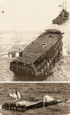She went on to become the second oldest ship in the Royal Navy after HMS Victory. When the Royal Navy finally scuttled Implacable by explosive charge on 2 December 1949, she flew both the French and British flags side-by-side as she sank.