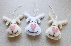 blog o szyciu, boże narodzenie, filcowe ozdoby na choinkę, filcowe zabawki…
