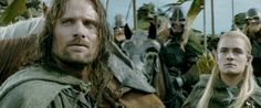 "When he was 100% done with these horse people. | 13 Times Background Legolas Was The Most Important Part Of ""The Lord Of The Rings"" Movies"