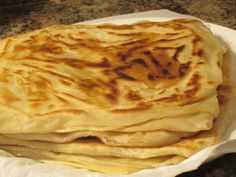 My Favourite Breads I saw this video on you tube and I knew I wanted to make Yemeni Bread. That day I had planned to make some roast chicken and potatoes for dinner. The chicken had already been wa…