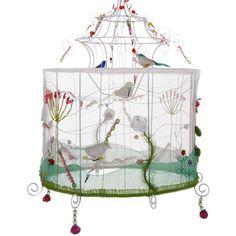 TAJ Wood & Scherer - Doolittle Birdcage Lampshade