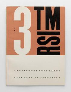 TM Typographische Monatsblätter, issue 3, 1950