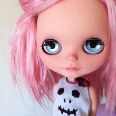 'Zoe' OOAK Blythe doll by Sharon Avital
